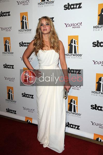 Jennifer Lawrence<br /> at the 14th Annual Hollywood Awards Gala, Beverly Hilton Hotel, Beverly Hills, CA. 10-25-10<br /> David Edwards/Dailyceleb.com 818-249-4998