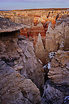 Coal Mine Canyon by Twilight, Arizona
