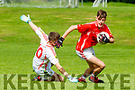 Ruairi Murphy East Kerry turns Emmet Finian Eoghan Ruadh during the u16 County Championship semi final in Killarney on Sunday