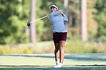 16 October 2016: South Carolina's Ana Pelaez (ESP). The Final Round of the 2016 Ruth's Chris Tar Heel Invitational NCAA Women's Golf Tournament hosted by the University of North Carolina Tar Heels was held at the UNC Finley Golf Club in Chapel Hill, North Carolina.