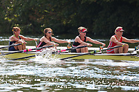Race: 327  W.MasD.4x-  Final<br /> 305  Upper Thames Rowing Club<br /> 306  Mortlake/Upper Thames RC Composite<br /> <br /> Henley Masters Regatta 2018 - Saturday<br /> <br /> To purchase this photo, or to see pricing information for Prints and Downloads, click the blue 'Add to Cart' button at the top-right of the page.