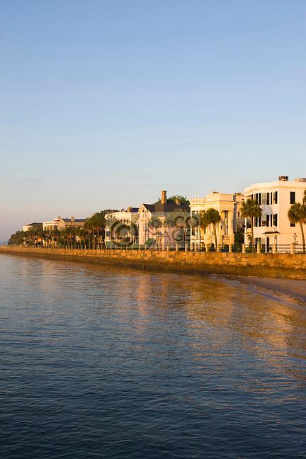 ANTEBELLUM HOMES <br /> THE BATTERY<br /> CHARLESTON SOUTH CAROLINA USA