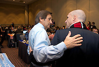 Paul Riley, Randy Waldrum. The NWSL draft was held at the Pennsylvania Convention Center in Philadelphia, PA, on January 17, 2014.