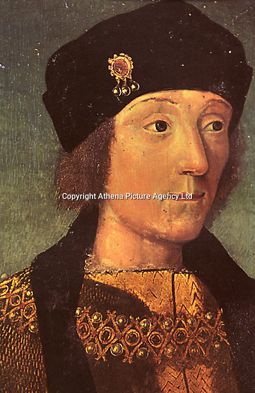 Pictured: Portrait of Henry VII by a young French Artist<br /> Re: The exact location of Henry VII's birthplace at Pembroke Castle could be revealed by archaeologists who are at the site this week.<br /> It is hoped a survey, using geophysical techniques, will further advance the understanding of one of Wales' and the UK's most iconic castles, and where the Tudor dynasty began.