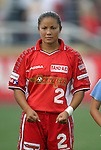 2 August 2003: Lorrie Fair. The Philadelphia Charge defeated the Atlanta Beat 3-0 at Villanova Stadium in Villanova, PA in a regular season WUSA game.