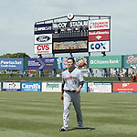 Masahiro Tanaka (RailRiders), MAY 27, 2015 - 3A : New York Yankees pitcher Masahiro Tanaka warms up before a minor league baseball game against the Pawtucket Red Sox at McCoy Stadium in Pawtucket, Rhode Island, United States. (Photo by AFLO)