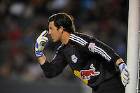 New York Red Bull goalie Jon Conway during a game against Los Angeles Galaxy at the Home Depot Center on Saturday, May 2, 2009, in Carson, California. .