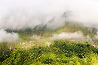 Konahuanui peak, Koolau Mountains, Oahu, Hawaii