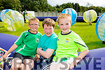 l-r Seamus O'Neill, Eoin Griffin and Kevin O'Donoghue enjoying the NA GAEIL GAA, family fun day on Sunday