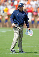 Penn State head coach Bill O'Brien on the field during an NCAA college football game in Charlottesville, Va. Virginia defeated Penn State 17-16.