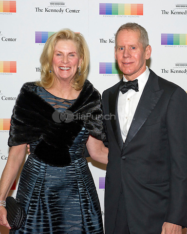 Carl H. Lindner, III and wife, Martha, arrive for the formal Artist's Dinner honoring the recipients of the 38th Annual Kennedy Center Honors hosted by United States Secretary of State John F. Kerry at the U.S. Department of State in Washington, D.C. on Saturday, December 5, 2015. The 2015 honorees are: singer-songwriter Carole King, filmmaker George Lucas, actress and singer Rita Moreno, conductor Seiji Ozawa, and actress and Broadway star Cicely Tyson.<br /> Credit: Ron Sachs / Pool via CNP/MediaPunch