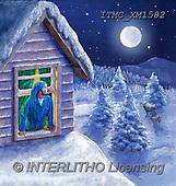 Marcello, CHRISTMAS SANTA, SNOWMAN, WEIHNACHTSMÄNNER, SCHNEEMÄNNER, PAPÁ NOEL, MUÑECOS DE NIEVE, paintings+++++,ITMCXM1582,#X#
