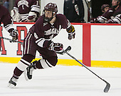 Kevin Lough (Colgate - 4) - The Harvard University Crimson defeated the visiting Colgate University Raiders 7-4 (EN) on Saturday, February 20, 2016, at Bright-Landry Hockey Center in Boston, Massachusetts,