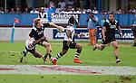 Damian McKenzie. Maori All Blacks vs. Fiji. Suva. MAB's won 27-26. July 11, 2015. Photo: Marc Weakley