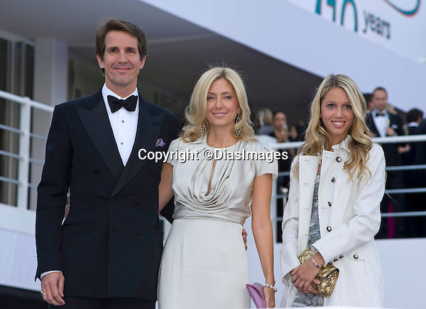 "CROWN PRINCE PAVLOS AND CROWN PRINCESS MARIE CHANTAL OF GREECE WITH DAUGHTER PRINCESS MARIA-OLYMPIA.attend the 10th ARK Gala Dinner, Kensington Palace Gardens, London_09/06/2011.This was the couple's first official engagement since the wedding.Mandatory Photo Credit: ©Dias/DIASIMAGES..**ALL FEES PAYABLE TO: ""NEWSPIX INTERNATIONAL""**..PHOTO CREDIT MANDATORY!!: DIASIMAGES(Failure to credit will incur a surcharge of 100% of reproduction fees)..IMMEDIATE CONFIRMATION OF USAGE REQUIRED:.DiasImages, 31a Chinnery Hill, Bishop's Stortford, ENGLAND CM23 3PS.Tel:+441279 324672  ; Fax: +441279656877.Mobile:  0777568 1153.e-mail: info@diasimages.com"