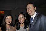 Kristi Yamaguchi & Michelle Kwan and husband Clay Pell, - 10th Annual Gala celebrating Figure Skating in Harlem's 18th year of operations at The Stars 2015 Benefit Gala on April 13, 2015 in New York City, New York honoring Olympic Champion Evan Lysacek, Gloria Steinem and Nicole, Alana and Juliette Feld with Mary Wilson as Mistress of Ceremony. (Photos by Sue Coflin/Max Photos)
