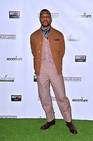 SANTA MONICA, CA. February 21, 2019: Jonathan Majors at the 14th Annual Oscar Wilde Awards.<br /> Picture: Paul Smith/Featureflash