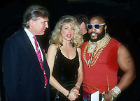 #Donald Trump & #Marla Trump #Mr. T 1991<br /> Photo By John BarrettPHOTOlink.net