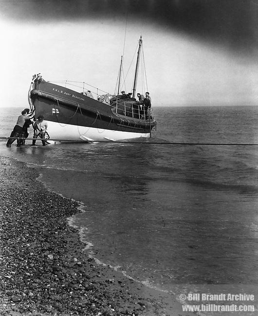 Aldeburgh Beach life guard, 1948