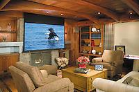 Motorized Screen Over TV