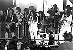 John Lennon Yoko Ono and Eric Clapton 1969  at London Lyceum.<br />
