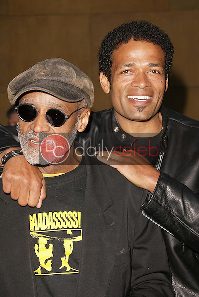 Mario Van Peebles and Melvin Van Peebles