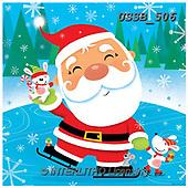 Sarah, CHRISTMAS SANTA, SNOWMAN, WEIHNACHTSMÄNNER, SCHNEEMÄNNER, PAPÁ NOEL, MUÑECOS DE NIEVE, paintings+++++Santa&Bunny-12-A,USSB506,#X#