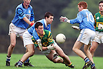 Action from Newtown Blues V Cooley Kickhams in Castlebellingham on Sunday..Picture Paul Mohan Newsfile