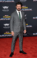 Karl Urban at the premiere for &quot;Thor: Ragnarok&quot; at the El Capitan Theatre, Los Angeles, USA 10 October  2017<br /> Picture: Paul Smith/Featureflash/SilverHub 0208 004 5359 sales@silverhubmedia.com