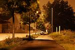 La zone. Paysage nocturne de Bretagne?