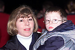 Conor and Eileen Smyth from Boyle O'Reilly at the fireworks display on New Year's Day..Picture Paul Mohan Newsfile
