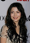 HOLLYWOOD, CA. - September 25: Miranda Cosgrove arrives at the 7th Annual Teen Vogue Young Hollywood Party at Milk Studios on September 25, 2009 in Hollywood, California.