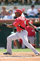 Jones, Jacque 6866.jpg. Spring Training. Cincinnati Reds at Houston Astros. Spring Training Game. Friday March 20th, 2009 in Kissimmee., Florida. Photo by Andrew Woolley.