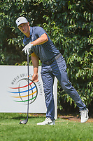 Charl Schwartzel (RSA) watches his tee shot on 2 during round 3 of the World Golf Championships, Mexico, Club De Golf Chapultepec, Mexico City, Mexico. 3/3/2018.<br /> Picture: Golffile | Ken Murray<br /> <br /> <br /> All photo usage must carry mandatory copyright credit (&copy; Golffile | Ken Murray)