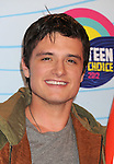 UNIVERSAL CITY, CA - JULY 22: Josh Hutcherson poses in the press room at the 2012 Teen Choice Awards at Gibson Amphitheatre on July 22, 2012 in Universal City, California.