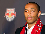 Thierry Henry press conference at Red Bull Arena, Harrison, New Jersey, 07152010
