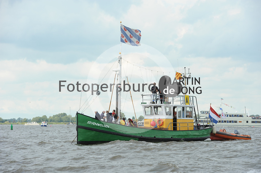 ZEILSPORT: TERHERNE: 09-08-2017, SKS Skûtsjesilen, ©foto Martin de Jong