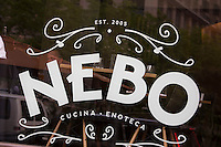 NEBO restaurant, Atlantic Ave., Greenway, Boston, MA