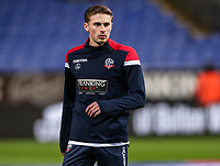 Bolton Wanderers' Joe Pritchard warming up before the match <br /> <br /> Photographer Andrew Kearns/CameraSport<br /> <br /> The EFL Sky Bet Championship - Bolton Wanderers v West Bromwich Albion - Monday 21st January 2019 - University of Bolton Stadium - Bolton<br /> <br /> World Copyright © 2019 CameraSport. All rights reserved. 43 Linden Ave. Countesthorpe. Leicester. England. LE8 5PG - Tel: +44 (0) 116 277 4147 - admin@camerasport.com - www.camerasport.com