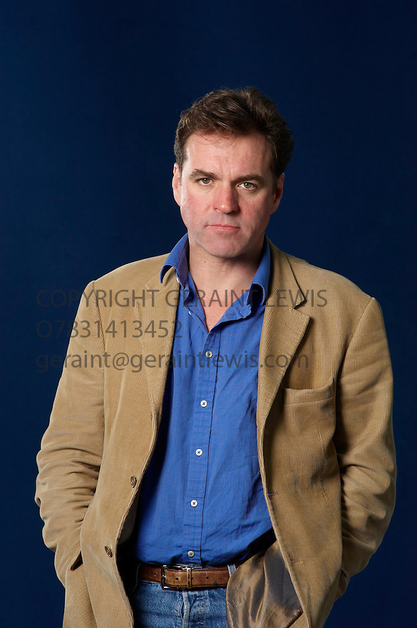 Niall Ferguson,Scottish Historian and Professor of History at Havard and writer  at The Edinburgh International  Book Festival 2010 .CREDIT Geraint Lewis