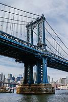 NOVA YORK, EUA, 14.03.2019 - NEW YORK-EUA - Vista da Ponte Manhattan em Nova York nos Estados Unidos.(Foto: Vanessa Carvalho/ Brazil Photo Press)