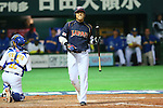 Katsuya Kakunaka (JPN), .MARCH 2, 2013 - WBC : .2013 World Baseball Classic .1st Round Pool A .between Japan 5-3 Brazil .at Yafuoku Dome, Fukuoka, Japan. .(Photo by YUTAKA/AFLO SPORT)