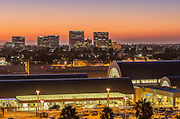 John Wayne Airport at Dusk
