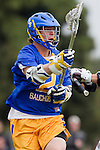 Los Angeles, CA 04/02/10 - Oisin Lewis (UCSB #2) in action during the UCSB-LMU MCLA SLC conference lacrosse game at Loyola Marymount University.