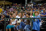 Fans having fun at the Charlotte Knights Home Game