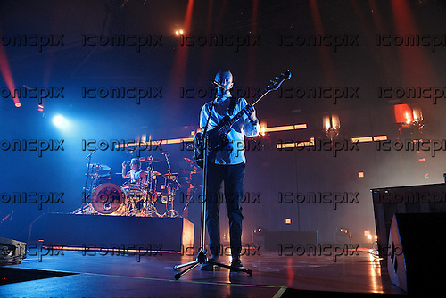 TWENTY ONE PILOTS - vocalist Tyler Joseph - performing live at Alexandra Palace in London UK - 11 Nov 2016.  Photo credit: Paul Harries/IconicPix **NOT AVAILABLE FOR UK MUSIC MAGAZINES**
