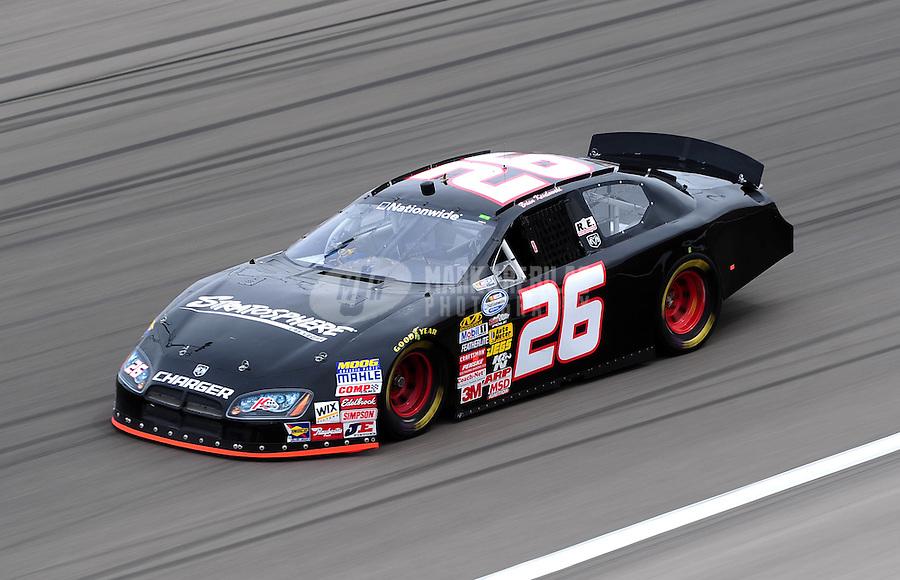 Feb. 26, 2010; Las Vegas, NV, USA; NASCAR Nationwide Series driver Brian Keselowski during practice for the Sams Town 300 at Las Vegas Motor Speedway. Mandatory Credit: Mark J. Rebilas-