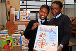 "Yewande Famutimi and Betty Akanni from Presentation School Ballymakenny Road at the ""Drogheda Counts"" workshop in the Library...Photo NEWSFILE/Jenny Matthews..(Photo credit should read Jenny Matthews/NEWSFILE)"