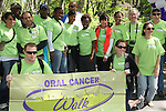 Walkers & As The World Turns' Colleen Zenk Pinter is the national spokesperson for heightened public awareness of oral cancer attends and is the speaker at the 5th Annual Oral Cancer Walk on April 23, 2010 at Jackie Robinson Park, Harlem, New York. (Photo by Sue Coflin/Max Photos)