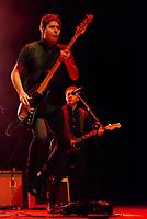 SÃO PAULO, SP, 01.09.2018 - SHOW-SP - Lelo Zaneti, baixista da banda Skank durante show na noite deste sábado, 01, no Credicard Hall em São Paulo. (Foto: Anderson Lira\Brazil Photo Press)